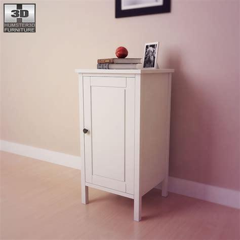ikea hemnes bedside table 2 3d model humster3d