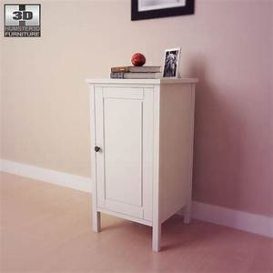 Ikea Schranktüren Einstellen : ikea hemnes bedside table 2 3d model hum3d ~ Eleganceandgraceweddings.com Haus und Dekorationen