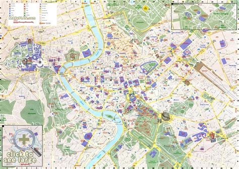 italy tourist attractions map attractions
