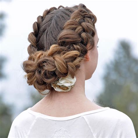 Updo Hairstyles With Braid by 20 Trend Setting Crimped Hairstyles