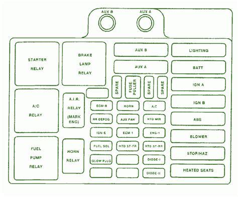 1998 Chevy Fuse Diagram by Wrg 0912 Fuse Diagram 2004 Chevy Silverado 2500 Crew C