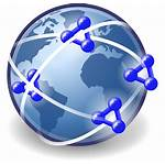Clipart Network Global Internet Semantic Networking Social