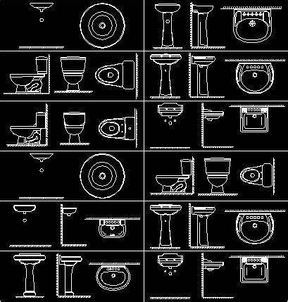 cuisine autocad bathroom fittings in autocad drawing bibliocad éviers