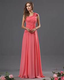 floor length bridesmaid dresses one shoulder bridesmaid dresses