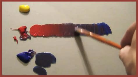color mixing simplified 02 acrylic painting lesson youtube
