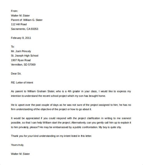 10 employment letter of intent templates free sle