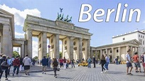 Berlin - The reunited capital of Germany (timelapse) - 4K - YouTube