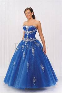 big blue wedding dresses design with ribbon and pearl With blue wedding dresses