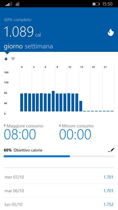 si鑒e microsoft l 39 app microsoft health si aggiorna interfaccia rinnovata supporto a band 2 e menu tradotti in italiano windowsteca