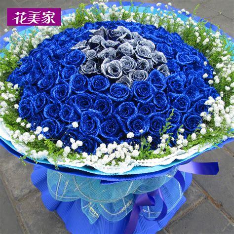 蓝玫瑰图片大全大图-蓝玫瑰一朵图片大全