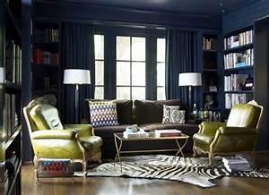 le style art deco qui respire le romantisme dans linterieur With tapis de yoga avec canape cuir style ancien