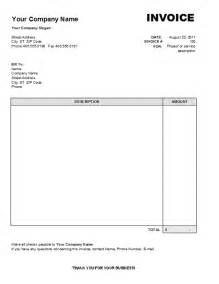 free invoice word template