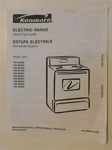 Kenmore Elite Electric Range User Guide And Instalation