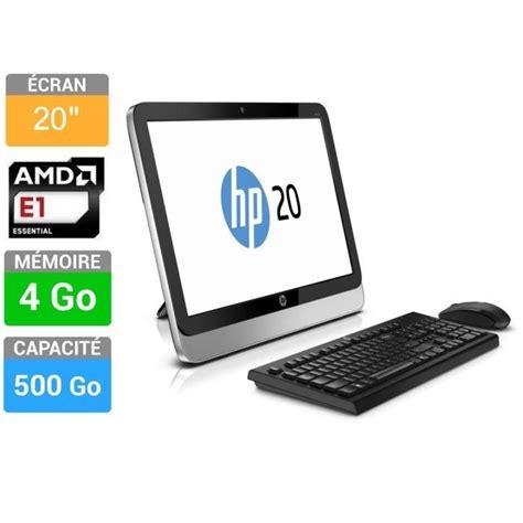 ordinateur de bureau tout en un hp hp pc tout en un 20 2210nf prix pas cher soldes dès