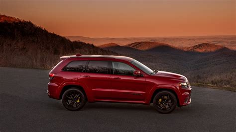 jeep grand cherokee trackhawk wallpapers hd images