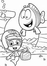 Bubble Guppies Coloring Pages Printable sketch template