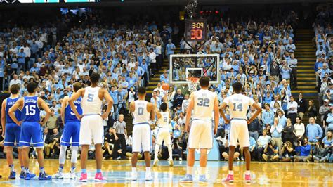 top  games  acc schedule questions  duke unc