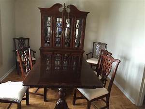 Universal furniture dining room set nepean ottawa for Universal furniture dining room set
