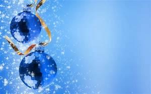 Christmas Wallpaper Blue | Wallpapers9