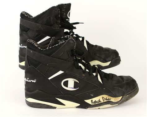 Champion Shoes : 1990-93 Circa Robert Parish Boston Celtics