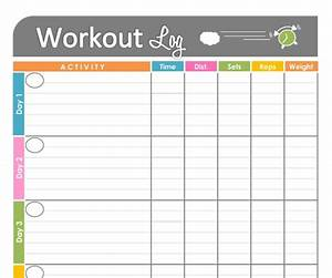 Free printable workout schedule blank calendar printing for Exercise calendar template free