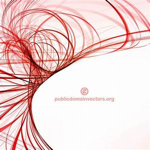 curved red lines vector   free vectors   UI Download