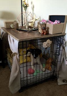 Diy Dog Crate Table Top  Woodworking Projects & Plans