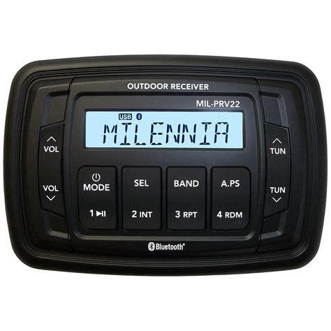 Boat Stereo No Power by Get 2018 S Best Deal On Milennia Milprv22 Marine Stereo