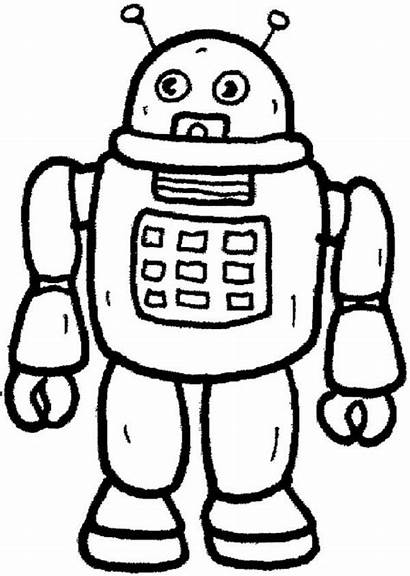 Robot Coloring Toys Pages Future Toy Bonnie