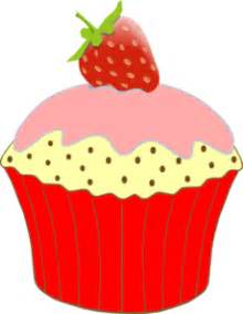 Vanilla cupcakes clipart free clipart images - Clipartix