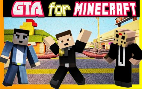 Mod & Skin Gta V For Minecraft Para Android