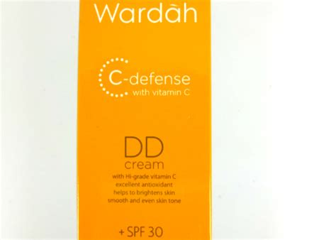 review wardah c defense dd natural yukcoba in