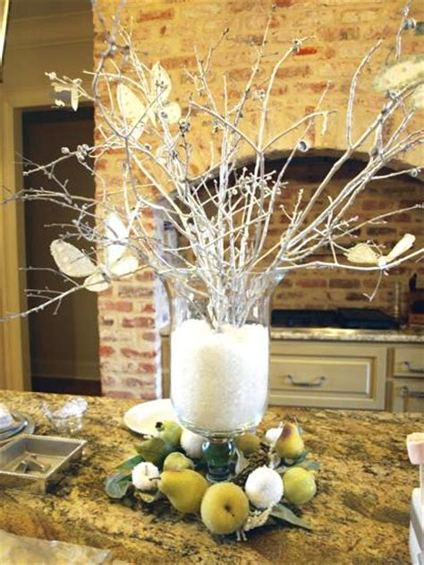 winter branch centerpieces winter branches centerpieces