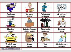 Nombre de profesiones en inglés Imagui