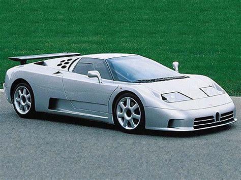 1991 Bugatti EB 110 - Milestones