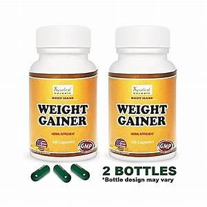 Ayurleaf Herbals Body Mass Weight Gainer Herbal Supplement