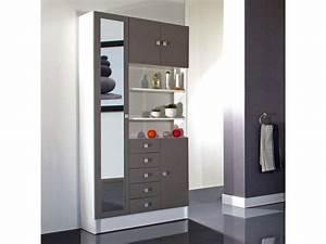 Meuble Rangement Salle De Bain But : armoire salle de bain but ~ Dallasstarsshop.com Idées de Décoration