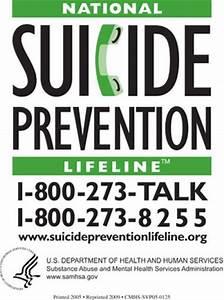 SAMHSA Free National Suicide Prevention Lifeline Magnet – US