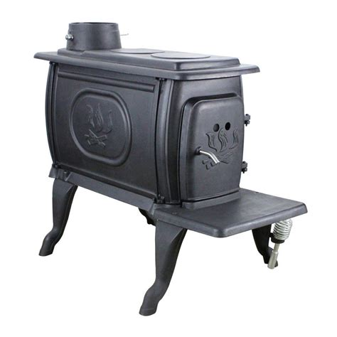 stove logwood  sq ft epa certified cast iron stove