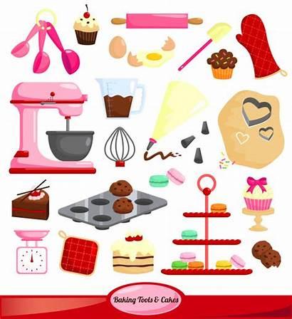 Baking Vector Tools Premium Coffee Illustration Cafe