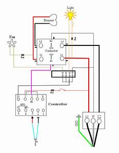 My Oven Schematic   For New Oven Builders