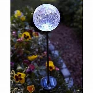 Buy utility type led solar power lawn ball light garden outdoor lighting bazaargadgets