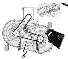 solved how to replace drive belt on craftsman riding