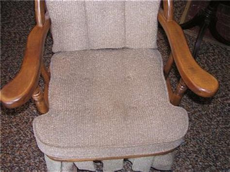 newport glider upholstered platform rocking chair ebay
