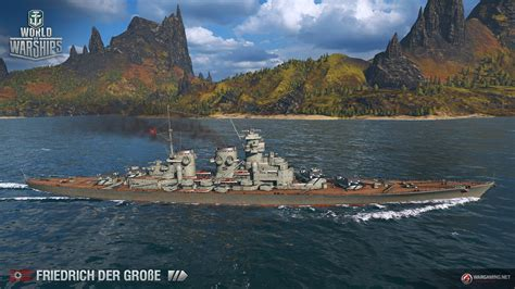 [拡大画像] 【インタビュー】ドイツ戦艦ツリーついに実装! 「World of Warships」インタビュー(9 ...