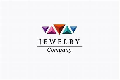 Jewelry Company Logos Creativemarket Creative Templates