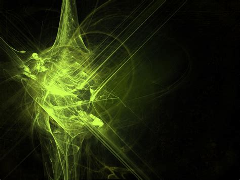 Abstract Green Energy Wallpaper by Free Illustration Green Background Free