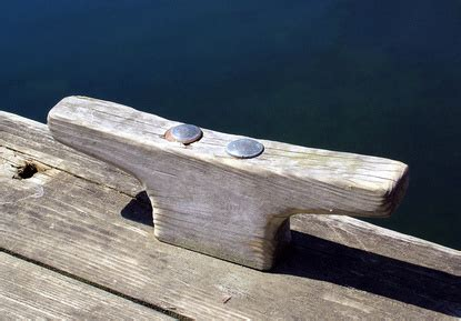 Small Boat Cleats by How To Make Wooden Boat Cleats Ehow Uk