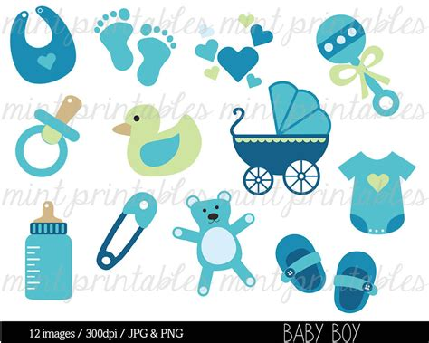 Baby Shower Clipart Clip Art Baby Boy Clipart Baby Clipart