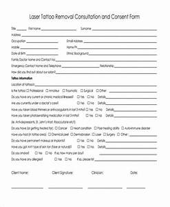 cool tattoo release form template photos resume ideas With tattoo release form template
